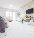 double bed and comfortable atmosphere