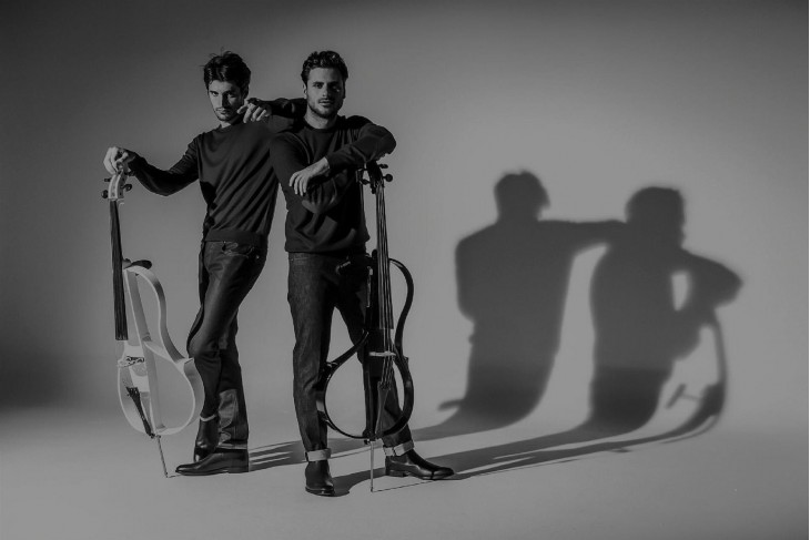 2 CELLOS are coming in Skopje